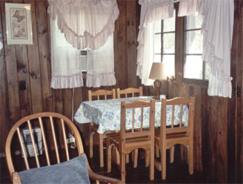 Dining Table in the Little Cabin