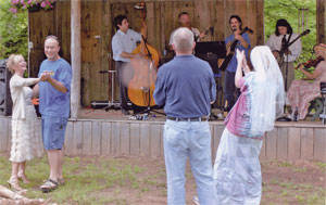 Dancing and Fun at Nottely River Campground