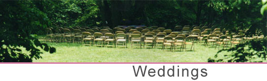 Weddings at Nottely Campground
